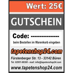 Gutschein 25€ - GUT-25-1