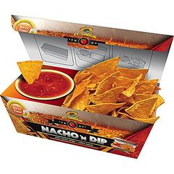 El Sabor Nacho n Dip Salsa Chili Nachos mit Salsa Dip servierfertig 175g