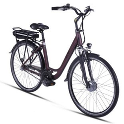 Llobe Metropolitan Joy City E-Bike rot 36V/8Ah