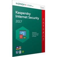 Kaspersky Lab Internet Security 2017 3 Geräte PKC DE Win Mac Android
