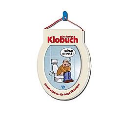 Trötsch Das lustige Klobuch - Toilettenpapier Klopapier - Buch