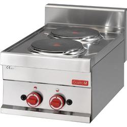 Gastro M Elektroherd 6030PCE 2 Kochplatten GN017
