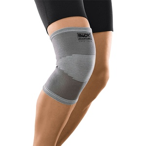 Knie Bandage elastisch  grau (Größe: L/XL)