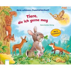 Mein schönstes Puzzlebilderbuch - Tiere, die ich mag