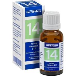 Biochemie Globuli Nr.14 Kalium bromatum D12