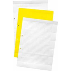 10 Stück Weidmüller Schild ESOUR20DINA4WS(VE60)