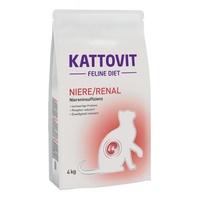 Kattovit Feline Diet Niere/Renal 4 kg