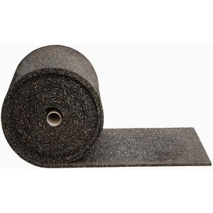 Gummimatte Anti-Vibrationsmatte Antirutschmatte 500 x 60 x 1,5 cm, schwarz (lfd. Gummimatte Meterware) (Bautenschutzmatte Gummigranulatmatte Kofferraummatte Bodenschutzmatte Bodenbelag Gummi)