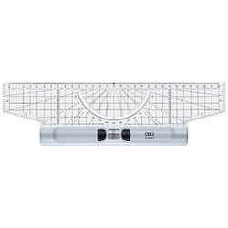 M + R Roll-Lineal   30,0 cm, glasklar