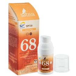 Sativa No. 68 - Mineralische Sonnenschutzcreme - Rose Beige 30ml