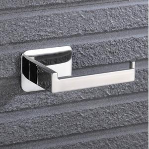 Celbon Chrom Toilettenpapierhalter ohne Bohren, Klorollenhalter Selbstklebend Klopapierhalter 304 SUS Edelstahl für Badzimmer WC