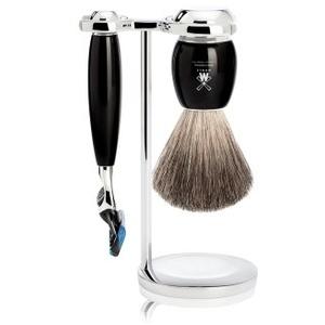 Mühle Vivo Reines Dachshaar Gillette Fusion Edelharz Rasierset 1 Stk