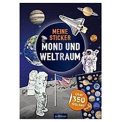 Meine Sticker - Mond und Weltraum - Buch