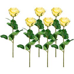 Kunstblume Kunstblume, Creativ green, Höhe 69 cm gelb