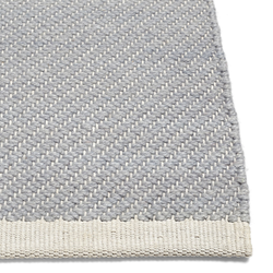 Bias Rug Cool Grey 140 x 200 cm  Hay
