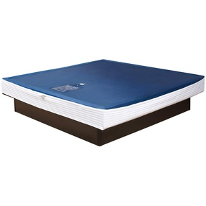 Premium Comfort Wasserkern für Wasserbett oder Wasserbettmatratze - für Bettgröße 180x220 cm - Bettaufbau: Solo - Softsideumrandung: innen keilförmig - Höhe innen: 20-23 cm - Beruhigungsstufe 50% / F3