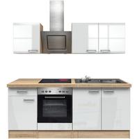 Flex-Well Küchenzeile Florenz, mit E-Geräten, Breite 310 cm