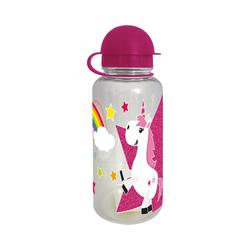 Geda Trinkflasche Tritan-Trinkflasche Kids Einhorn, 350 ml