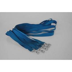 5 Umhängebänder | SET | blau | 20 mm