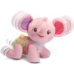 Vtech® Kuscheltier Krabbel mit mir Elefant, pink