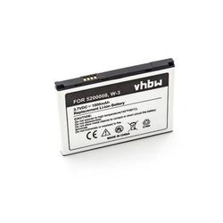 vhbw Li-Ion Akku 1500mAh (3.7V) passend für mobile Router Hotspots Netgear Aircard AC785S