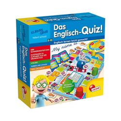 Lisciani Lernspielzeug Kleines Genie Das Englisch-Quiz