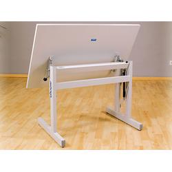 MÖCKEL® ergo S 72 ergonomischer Tisch, Grau, 120 x 80 cm