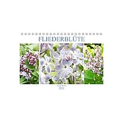 Fliederblüte (Tischkalender 2021 DIN A5 quer)