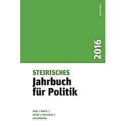 Steirisches Jahrbuch für Politik 2016 - Buch