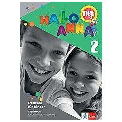 Hallo Anna neu: 2 Arbeitsbuch mit Bastelvorlagen. Olga Swerlowa  - Buch