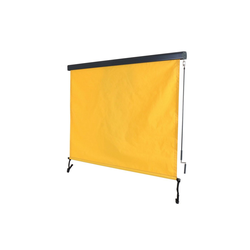 MCW Senkrechtmarkise MCW-F42 UV-Schutz 50, Windklasse 2 gelb 180 cm x 250 cm