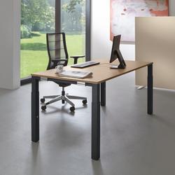 Palmberg SYSTO TEC Schreibtisch Vierfuß Quadratrohr