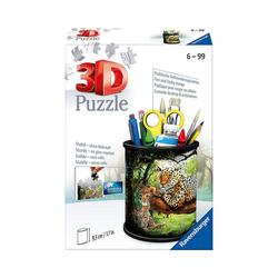 Ravensburger 3D-Puzzle 3D-Puzzle Utensilo - Raubkatzen, 54 Teile, Puzzleteile