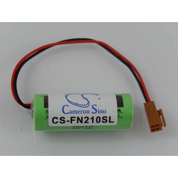 vhbw Li-Ion Batterie 2000mAh (3V) passend für GE Fanuc CNC Power Mate H, Server Unit 9010