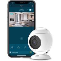 Motorola FOCUS 89 | 1080p Full HD Home-Überwachsungskamera | WLAN Überwachung via Smartphone für zuhause | Zwei-Wege-Kommunikation, Schwenken, Neigen und Zoomen, Sound- Bewegungs und Temperaturalerts