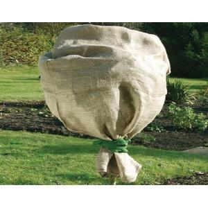 (6,98€/1m2) Jute-Schutzsack natur 100 x 110 cm  Winterschutz Pflanzenschutz