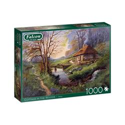 Falcon Puzzle 11243 Finlay Häuschen im Wald, 1000 Puzzleteile bunt