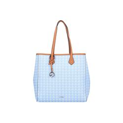 L. CREDI Shopper Eve, Polyurethan blau