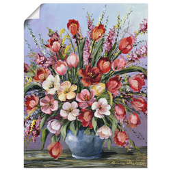 Wandbild »Bunter Tisch III«, Bilder, 61140927-0 bunt 30x40 cm bunt