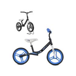 Byox Laufrad Laufrad Zig-Zag 10 Zoll (25,40 cm) Zoll, EVA-Reifen, Sattel einstellbar von 36 - 45 cm ab 12 Monate blau