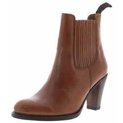 FB Fashion Boots SOFIA Damen Stiefelette Braun Stiefelette Rahmengenäht 37 EU