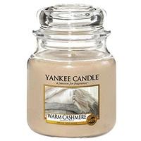 Yankee Candle Warm Cashmere mittelgroße Kerze 411 g
