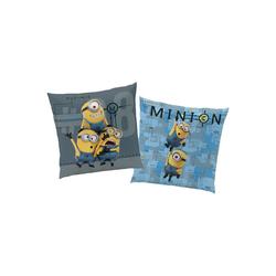 CTI Dekokissen Minions Funny, Kissen, 40 x 40 cm