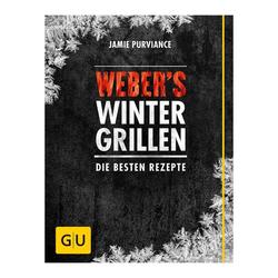 """Weber Grillbuch """"Winter Grillen"""" Schwarz"""