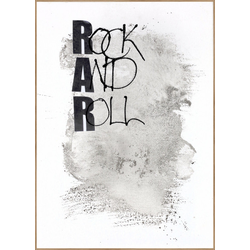 Poster ROCK AND ROLL(BH 30x40 cm)