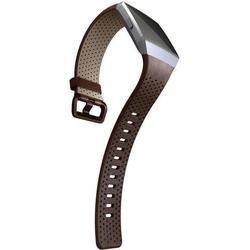 FitBit Ionic Perforated Leather Cognac Small Ersatzarmband Größe=S Cognac