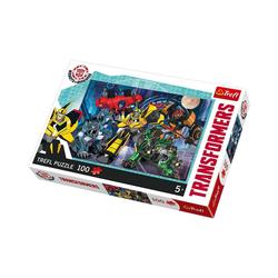 Trefl Puzzle Puzzle 100 Teile - Transformers, Puzzleteile