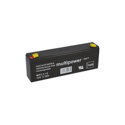 Multipower Multipower Blei-Akku MP2,3-12 Pb 12V 2,3Ah VdS Bleiakkus