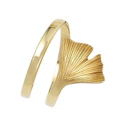JOBO Goldring Ginko, breit 375 Gold 54
