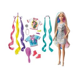 Mattel® Anziehpuppe Barbie Fantasie-Haar Puppe (blond), Meerjungfrau-